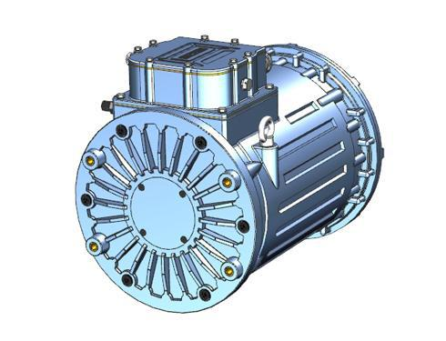 HM-30 30 kW High-Drive AC Brushless Electric Motor for Electric Mini-Buses