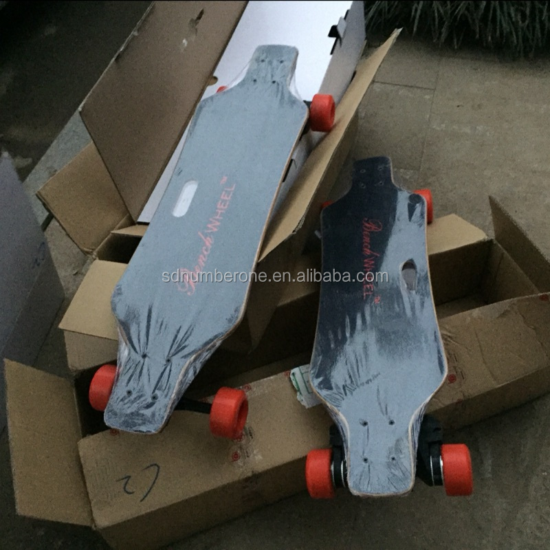 Cheap price Dual-drive 3600w wireless remote control adult electric skateboard for sale