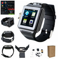 Stablest MTK6577 Dual Core Android 4.04 WiFi GSM GPS Bluetooth wrist watch phone with tv