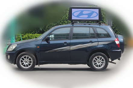 Taxi Topper Advertising Led Displays /Digital Taxi Top Advertising sign