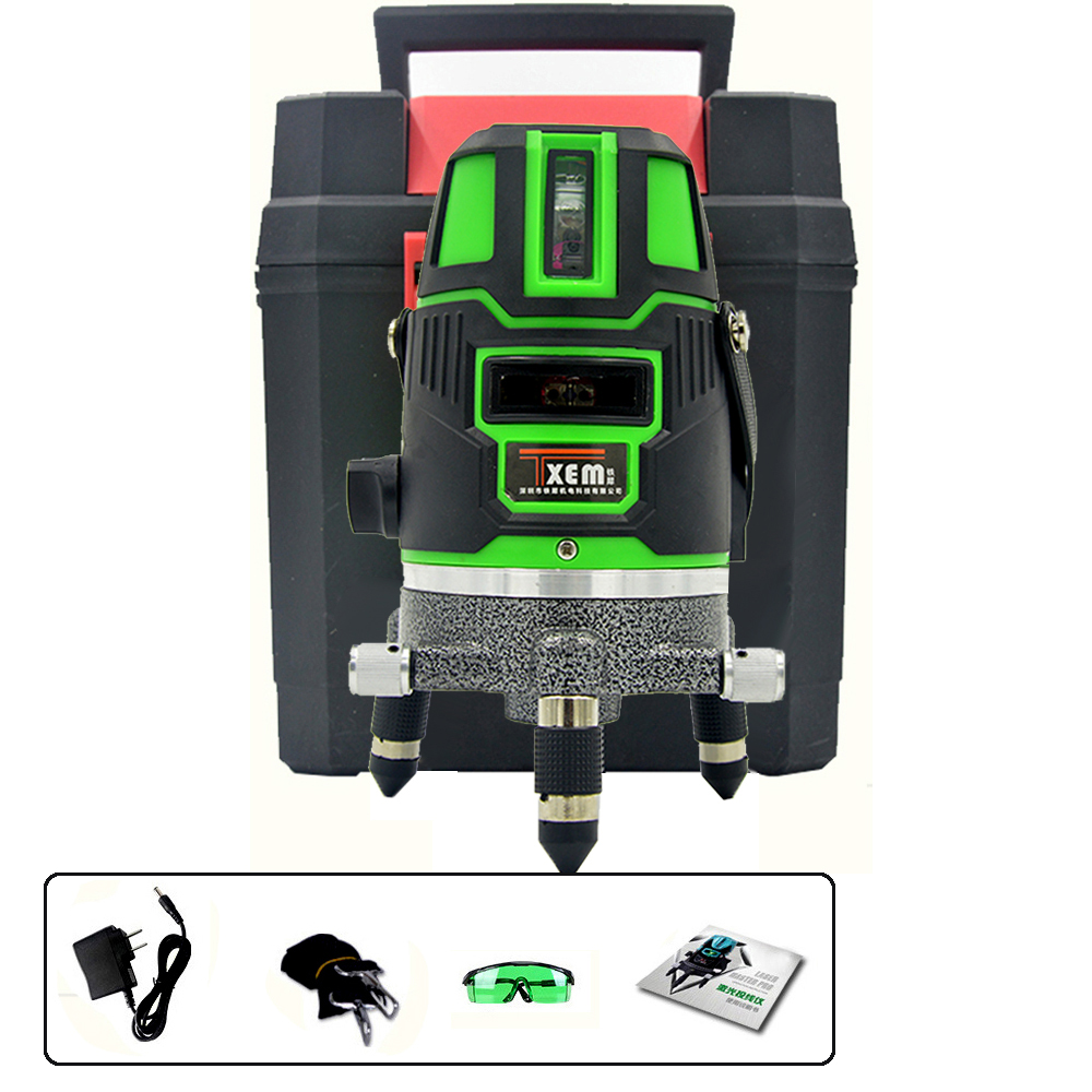 FS5-G2017 Layout Tools Optical Instrument Modular Laser Level 4V1h Green beam
