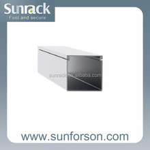Aluminum Cable Duct for PV Solar Mounting Systems
