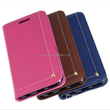 genuine leather flip phone cover case for Samsung Galaxy Note C S A J E ON edge mini plus 9 8 7 6 5 4 3 2 1
