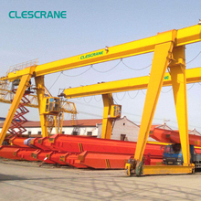 Hydraulic Container Boat Lifting Rail Mounted Gantry Crane 20 Ton 30 Ton Price Drawings