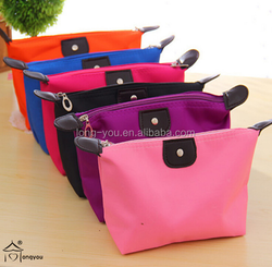 2015 new style small nylon cosmetic bag material