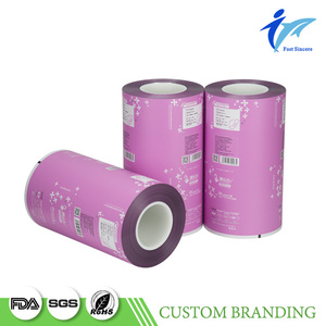 Mylar Hdpe Laminated Wrapping Plastic Napkin Roll Film Packaging