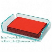 A4 size acrylic notepad holder