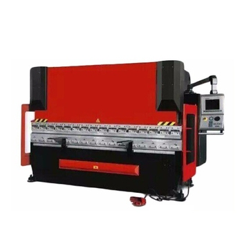 WE67K 125 Ton hydraulic cnc servo press brake machine