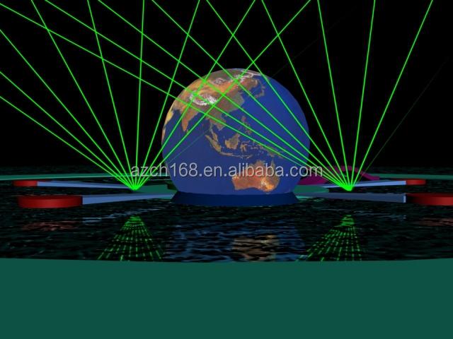 Modern Art Laser Show Outdoor Laser Light Show Equipment