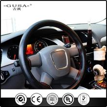 PVC hand sewing gear shift cover for car