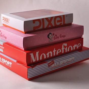 Custom paper material box for shirt