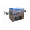 1200C Laboratory Vacuum Ashing Furnace with 60x400mm with Quartz Tube Resistance Wire Furnace