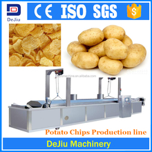 small scale frying potato chips making machine price/industrial food processing