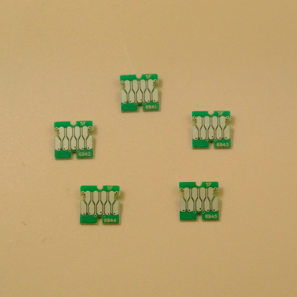 Free shipping 100% worked surecolor T3270 T5270 T7270 one time use chips , the newest version T3270 chips T6941-T6945