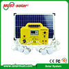 20W Portable Solar Power System with LED Lighting Bulb