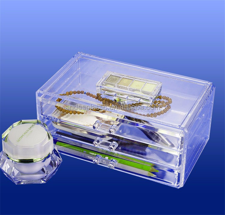 Hot Sales Competitive Price Home Clear Multi-Function Acrylic Cosmetic/Makeup Display Case Supplier