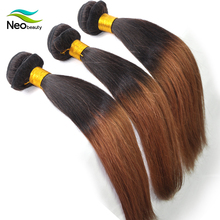 High Quality colored brazilian hair weave 1b/30 brazilian hair distributors