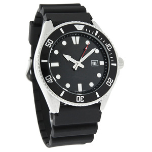 660 feet Water Resistant Silicone Luxury Watch Scew Down Diving Watches Men Waterproof