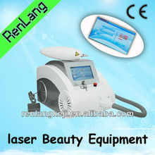 fast tattoo removal Q Switched Nd Yag laser