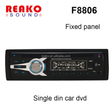 Hot Product 1Din In Dash Car DVD VCD CD MP3 MP4 player/ Fixed panel