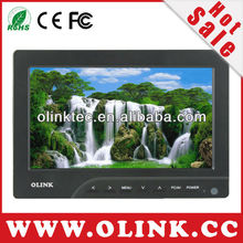 "7"" inch HD on-camera monitor with 7 inch LED LCD, 400cd/m2, VGA, AVx2 (FM769)"
