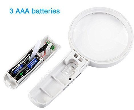 3x Zoom LED Light Working Magnifier Made In China Free Sample,Magnifier Lens Inter Switch Paper Box Packaging China Suppliers