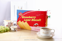Strawberry Layer Biscuit