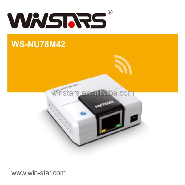 USB 2.0 Networking 4 port Server m4,Multi-Function Printer