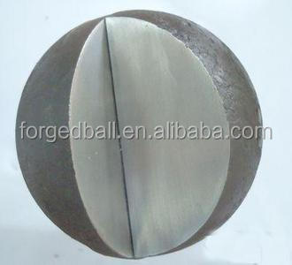 2014 SGS inspection of carbon steel ball for mining