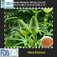 Hot Sale Natural 20:1 Okra Extract Powder