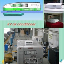 Battery power rooftop DC 12v 12 volt RV air conditioner