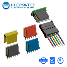 male female 2-pin plastic wire connector 2.54mm male type ip66