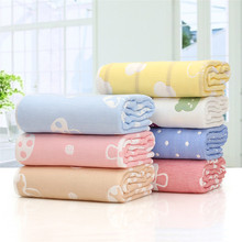 Hot Sale Mushroom 100% Organic Cotton Baby Swaddle Blanket