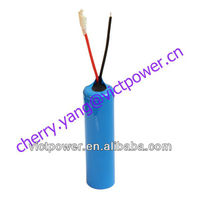 lishen LR18650EC 1350mah 3.65V 1s1p with PCM cover with PVC LIFEPO4 BATTERY PACK