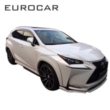 FRP material front lip rear bumper over fenders LX NX 200T/300H/F body kit for LX NX 2015 year up to AIMGAIN style