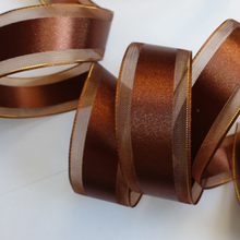 wholesale double face wired bows satin printing ribbon 38