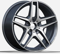 Hot sales alloy wheel 16 17 18 19 20 inch many size wheels for Germany rims w heels