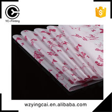 Custom printed gift wrapping paper roll tissue wrap paper manufacturer