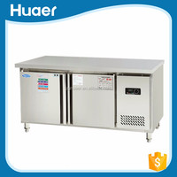 Lowest price commercial refrigerator table top display refrigerator Stainless steel salad display refrigerator