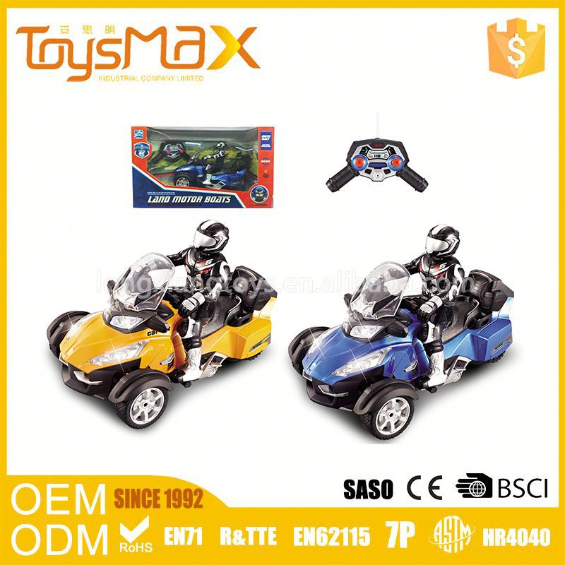 Games Children'S Toy 4Channel Durable Simulation 1:8 Scale Rc Motorcycle