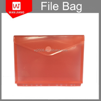 a4 plastic clear pp 3 or 11 hole punched document file bag for ring binders