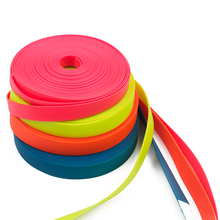 Waterproof Synthetic PVC Coated Nylon Webbing for Making Dog Collar and Leash