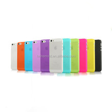 ultra-thin 0.35mm PP wholesale for iphone 5 custom back cover case