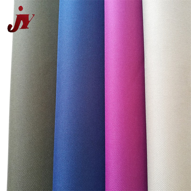 China hangzhou manufacture cheap plain polyester pu coated 1680D oxford fabric for curtain