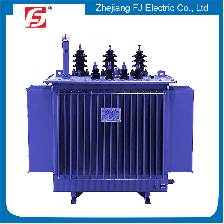 Insulate Class A Three Phase Oil Immersed Step Down 11KV 75 KVA Distribution Transformer