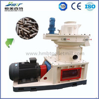 6-8mm wood pellets making machine pellet mill with auto lubrication system
