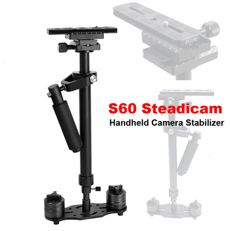 DSLR professional handheld camera stabilizer minicam steadicam s60 video steadycam camcorder steady cam Glidecam filmmaking