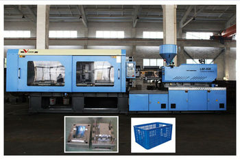 servo motor plastic crate injection machine