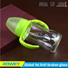 Clear Feeder Bottle With Safe Silicone