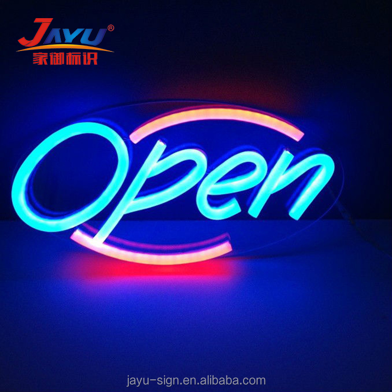 hanging led lights flex neon sign letters led open sign